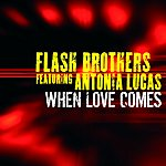 Flash Brothers When Love Comes (4-Track Maxi-Single)