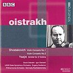 David Oistrakh Violin Concertos Nos.1 & 2/L'Amitié