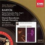 Béla Bartók Piano Concertos Nos.1&3/Rhapsodies Nos.1&2 (2003 Digital Remaster)