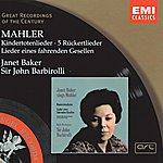 Gustav Mahler Kindertotenlieder/Rückert Lieder/Lieder Eines Fahrenden Gesellen/Ich Bin Der Welt Abhanden Gekommen (Remastered)