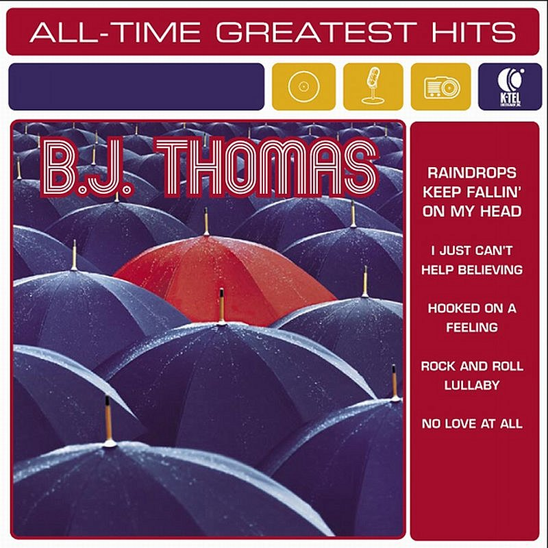 Cover Art: B.J. Thomas All Time Greatest