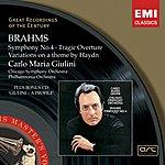 Carlo Maria Giulini Symphony No.4/Tragic Overture/Variations On A Theme By Haydn (Digital Remaster)