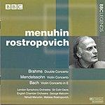 Yehudi Menuhin Concerto For Violin And Cello, Op.102 'Double'/Violin Concerto, Op.64/Violin Concerto No.2, BWV 1042