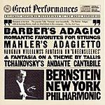 Leonard Bernstein Barber's Adagio, Romantic Favorites For Strings
