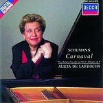 Alicia De Larrocha Carnaval/Faschingsschwank Aus Wien/Allegro in B Minor