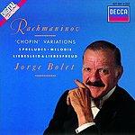 Jorge Bolet 'Chopin' Variations/5 Preludes/Melodie/Liebesleid/Liebesfreud