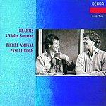 Pierre Amoyal Sonatas For Violin & Piano Nos.1-3/Scherzo in C Minor
