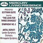 Antal Doráti Scythian Suite/The Love For Three Oranges Suite/Symphony No.5