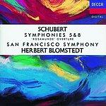 Herbert Blomstedt Symphonies Nos.5 & 8/Rosamunde Overture