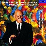Dmitri Shostakovich Symphony No.1 in F Minor, Op.10/Le Sacre Du Printemps (The Rite Of Spring)