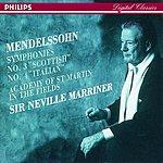 Felix Mendelssohn Symphony No.3 'Scottish'/Symphony No.4 'Italian'
