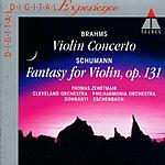Thomas Zehetmair Violin Concerto/Fantasy For Violin
