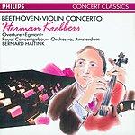 Herman Krebbers Violin Concerto/'Egmont' Overture