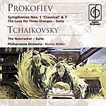 Pyotr Ilyich Tchaikovsky The Nutcracker Suite, Op.71a/The Love For Three Oranges - Suite, Op.33a/Symphonies Nos.1 & 7