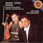 Midori Violin Concerto in A Minor/Romance in F Minor/Carnival (Karneval)