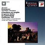Thomas Schippers Overtures: The Barber Of Seville/La Gazza Ladra/La Cenerentola/William Tell