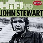 John Stewart Rhino Hi-Five: John Stewart