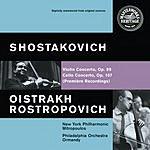 David Oistrakh Violin Concerto No.1 in A Minor, Op.77/Cello Concerto No.1 in E Flat Major, Op.107
