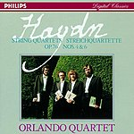 Orlando String Quartets Nos.63 & 80