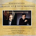 Emanuel Ax Sonata For Two Pianos in F Minor, Op.34b/Variations On A Theme Of Haydn in B Flat Major, Op.56b