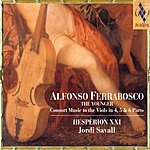 Jordi Savall Consort Music To The Viols In 4, 5 & 6 Parts