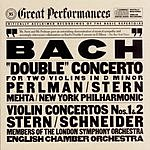 Isaac Stern Concerto For 2 Violins in D Minor, BWV 1043 'Double'/Violin Concertos Nos.1 & 2