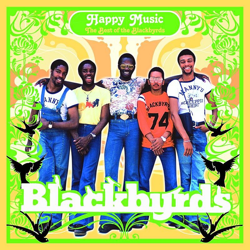 Cover Art: Happy Music: The Best Of The Blackbyrds