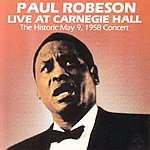 Paul Robeson Live At Carnegie Hall, 1958