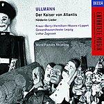 Walter Berry Der Kaiser Von Atlantis, Op.49 (Opera In One Act)/Hölderlin-Lieder