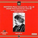 Clara Haskil Piano Concerto No.4 in G Major, Op.58/Piano Concerto No.24 in C Minor, K.491