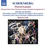 Robert Craft Pierrot Lunaire/Chamber Symphony No.1/4 Orchestral Songs/Herzgewachse