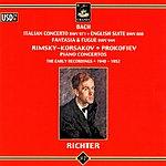 Sviatoslav Richter Italian Concerto/English Suite No.3/Piano Concertos