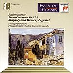 Philippe Entremont Piano Concertos Nos.1 & 4/Rhapsody On The Theme Of Paganini
