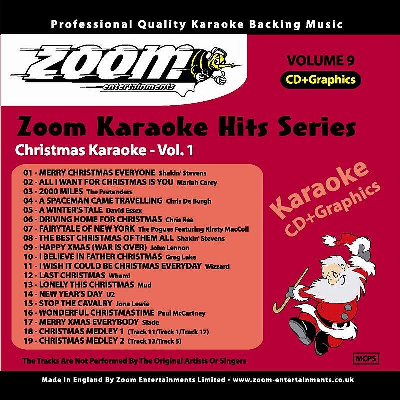 Cover Art: Zoom Karaoke Christmas Hits, Vol.1