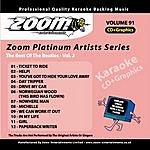 The Beatles Zoom Platinum Artists - Volume 91