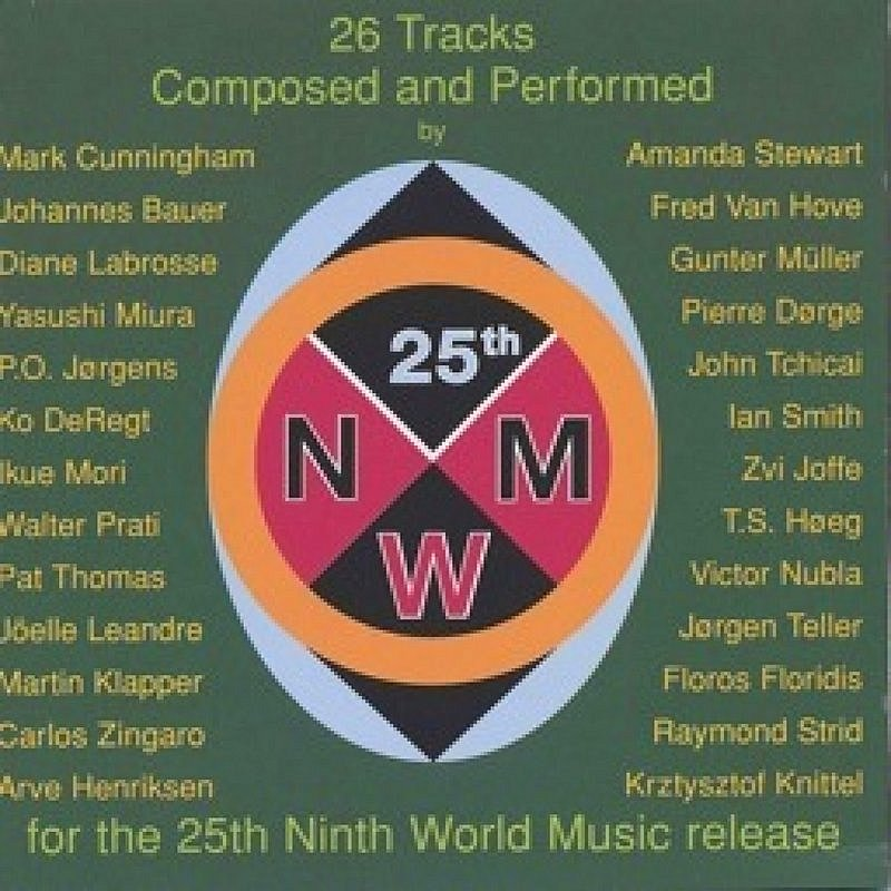 Cover Art: The 25th Ninth World Music Release