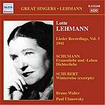 Lotte Lehmann Lieder Recordings, Vol.3