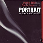Martial Solal Portrait In Black And White