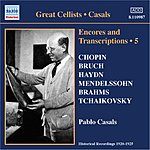 Pablo Casals Encores And Transcriptions, Vol.5: Complete Acoustic Recordings, Part 3