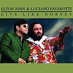 Luciano Pavarotti Live Like Horses (4-Track Maxi-Single)