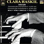 Clara Haskil Piano Concertos Nos.13 & 19