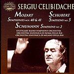 Sergiu Celibidache Symphonies Nos.40 & 41/Symphony No.5 in B Flat Major, D.485/Symphony No.2 in C Major, Op.61