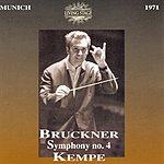 Rudolf Kempe Symphony No.4 in E Flat, WAB.104 'Romantic'