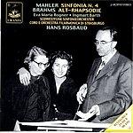 Hans Rosbaud Symphony No.4 in G Major/Alto Rhapsody, Op.53