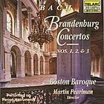Martin Pearlman Brandenburg Concertos Nos. 1, 2, & 3