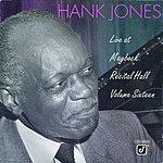 Hank Jones Live At Maybeck Recital Hall, Vol.16
