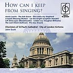 John Scott How Can I Keep From Singing?