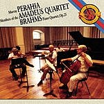 Murray Perahia Quartet For Piano And Strings in G Minor, Op.25