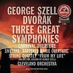 Antonin Dvorák Masterworks Heritage: Three Great Symphonies/Carnival Overture/Bartered Bride Overture