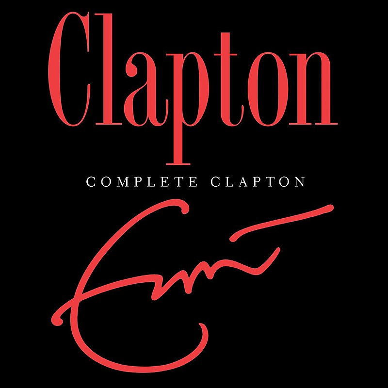 Cover Art: Complete Clapton